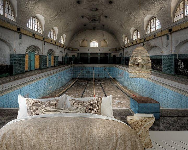 Beispiel fototapete: Schwimmbad von Perry Wiertz