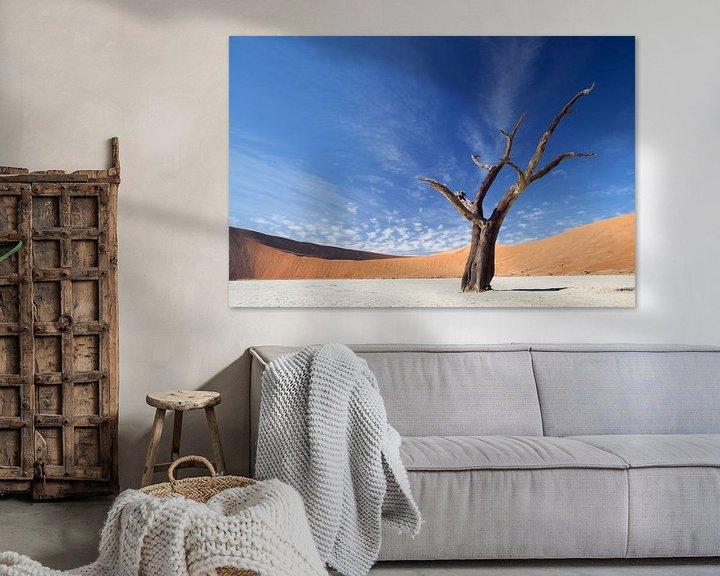 Sfeerimpressie: Deadvlei Namibie van Ellen van Drunen
