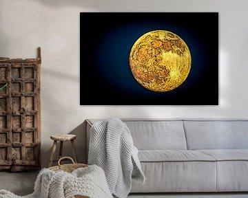 Volle maan (2) van Norbert Sülzner