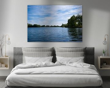 Lake and a blue sky van Malte Pott