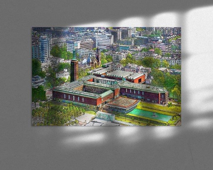 Sfeerimpressie: Rotterdam: Museum Boijmans van boven van Frans Blok