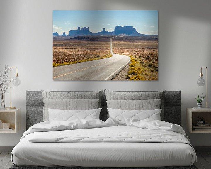 Beispiel: Monument Valley in de USA von Rob IJsselstein