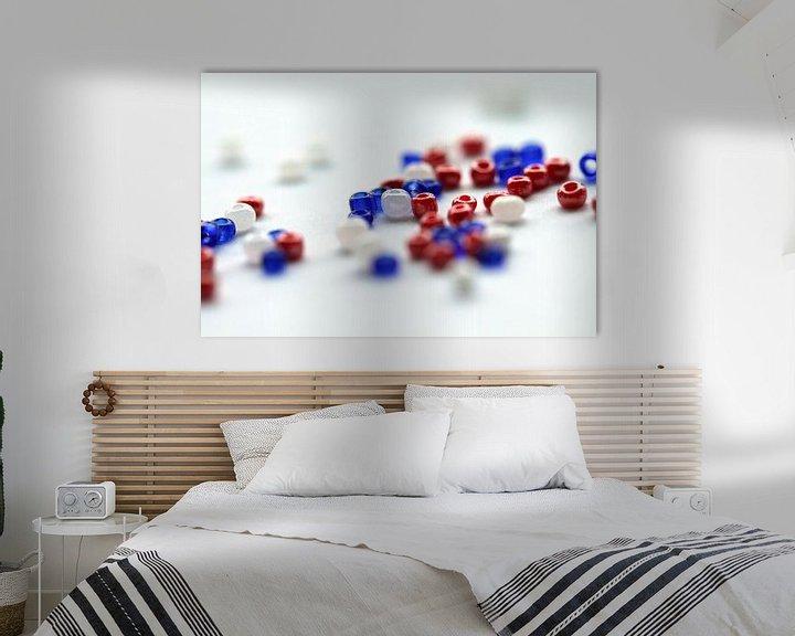 Sfeerimpressie: rood, wit en blauw van Klaase Fotografie
