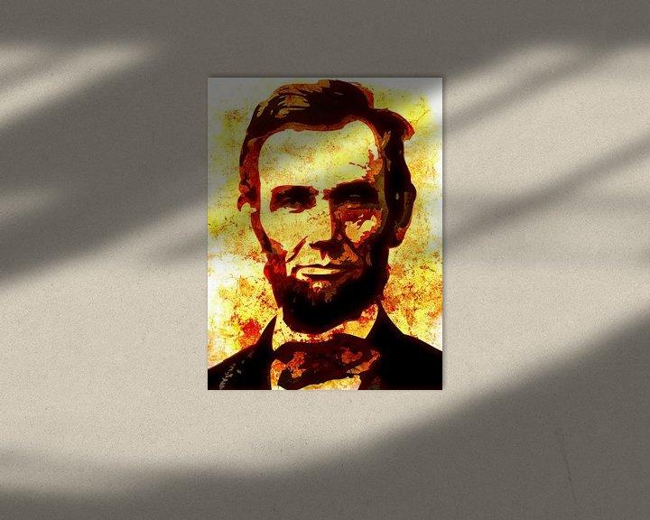 Beispiel: Abraham Lincoln von Maarten Knops