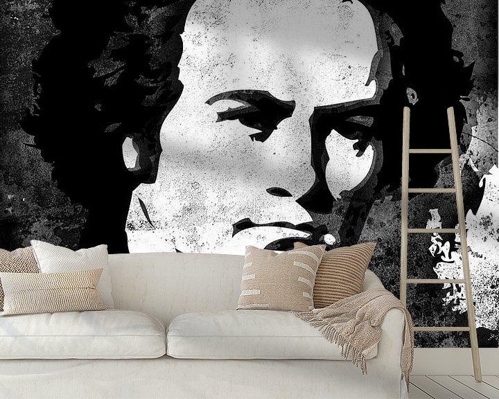 Beispiel fototapete: Ludwig van Beethoven von Maarten Knops