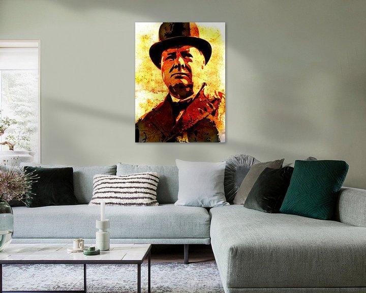 Sfeerimpressie: Winston Churchill van Maarten Knops