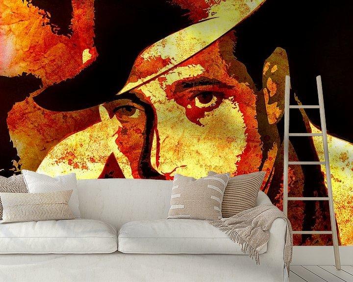 Beispiel fototapete: Humphrey Bogart von Maarten Knops