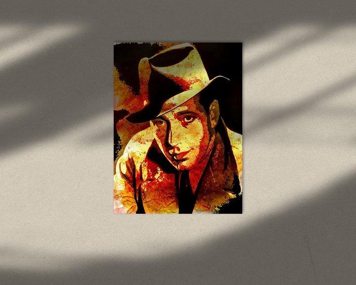 Beispiel: Humphrey Bogart von Maarten Knops