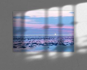 Waddenlicht van Karla Leeftink