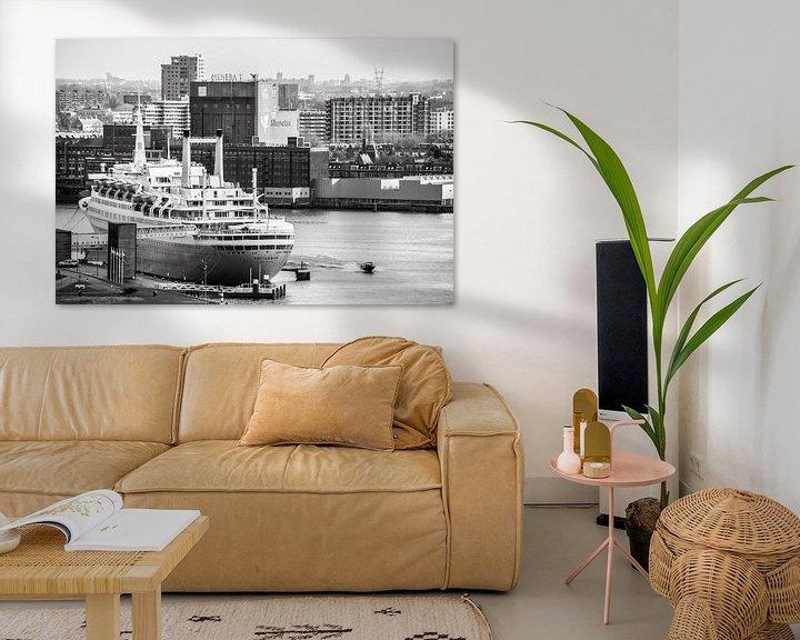 Sfeerimpressie: Oude Stoomschip de Rotterdam van Ton de Koning