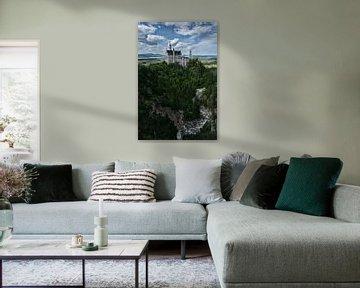 Neuschwanstein van Jo Beerens