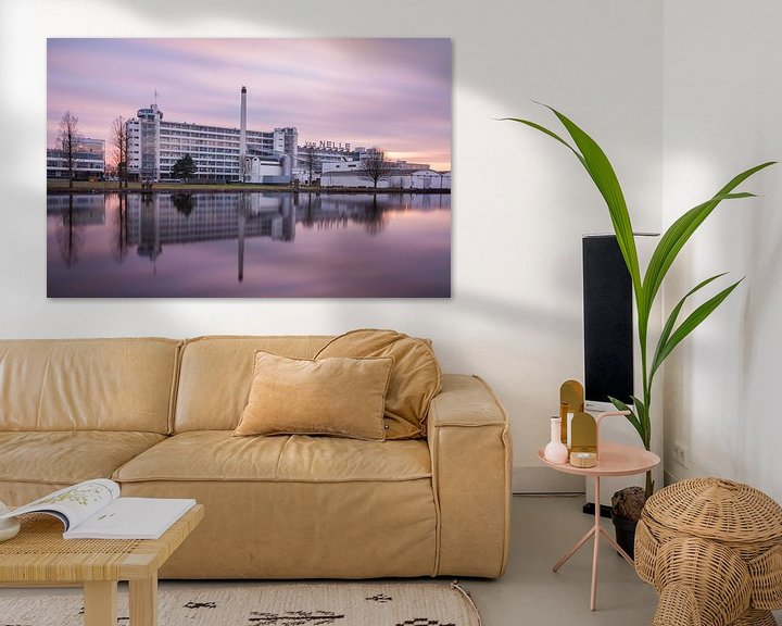 Sfeerimpressie: Van Nelle fabriek Rotterdam van Ilya Korzelius