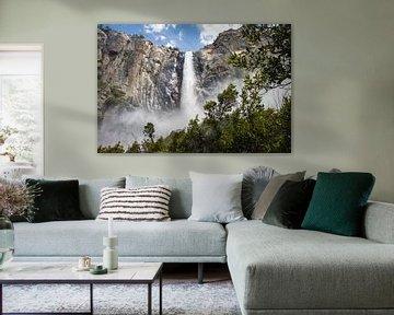 Le voile de la mariée au Yosemite sur Stefan Verheij