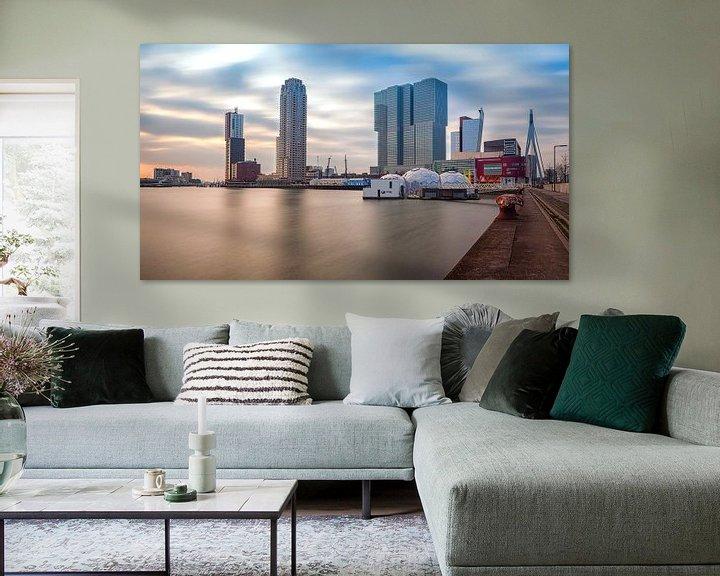 Sfeerimpressie: Rijnhaven (Nieuwe Luxor) Rotterdam van Rob van der Teen