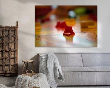 Kleurrijk bordspel voor de gezellige uurtjes, familieplezier von Ronald H