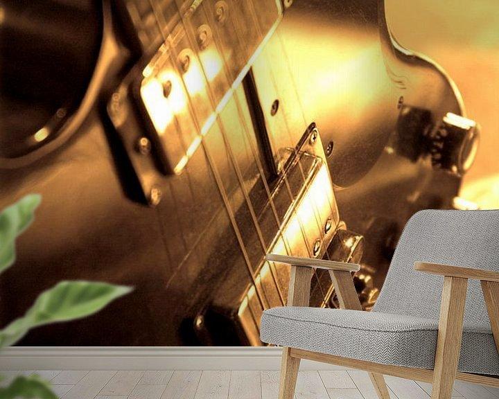 Sfeerimpressie behang: Elektrische gitaar van Norbert Sülzner