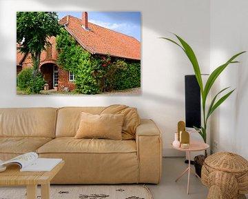 Picturesque Red Brick House in Lower Saxony van Gisela Scheffbuch