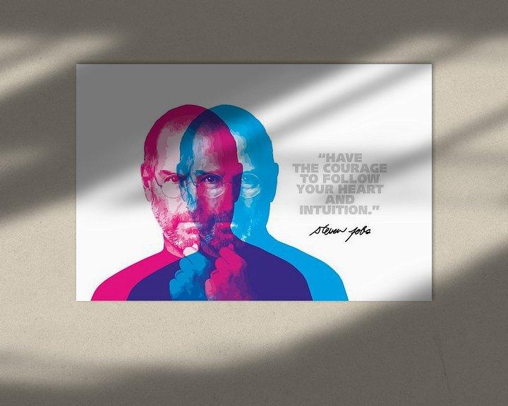 Impression: Citation de Steve Jobs sur Harry Hadders