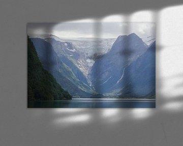 Briksdalbreen, Noorwegen van Ed de Cock