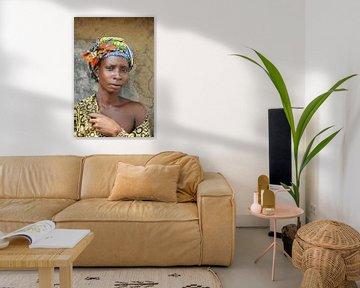 Femme africaine von Aristide Koudaya