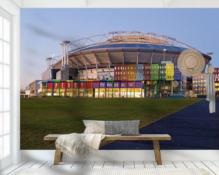 Sfeerimpressie behang: Amsterdam Arena / Johan Cruijff Arena van Anton de Zeeuw