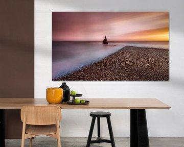Sound of Light - Sunset van Marc de IJk