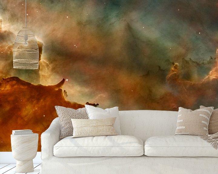 Sfeerimpressie behang: Carina Nebula