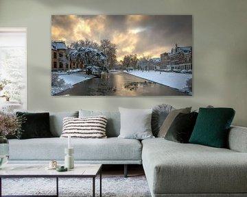 Noordsingel in Rotterdam van Mark De Rooij