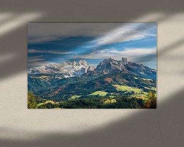 """Berglandschap """"Winter & Herfst"""" van Coen Weesjes"""