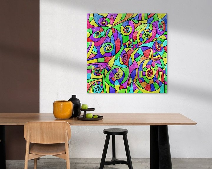 Beispiel: Modern art von Gabi Siebenhühner