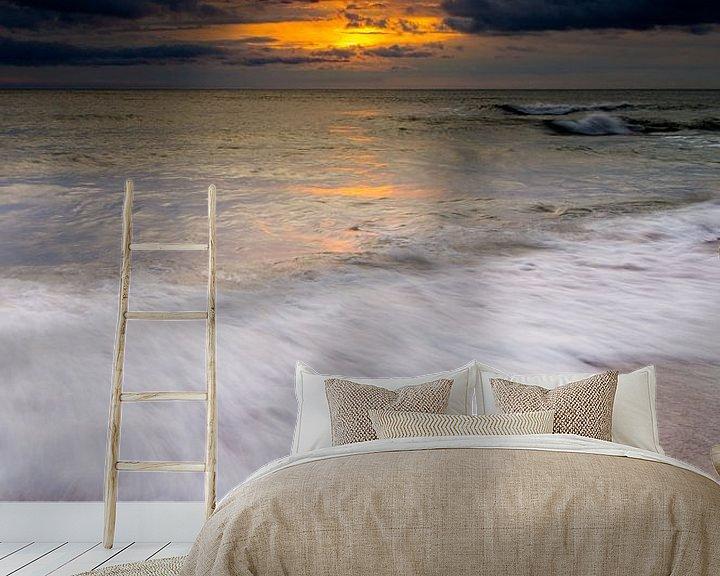 Beispiel fototapete: Sunrise at Cocklawburn