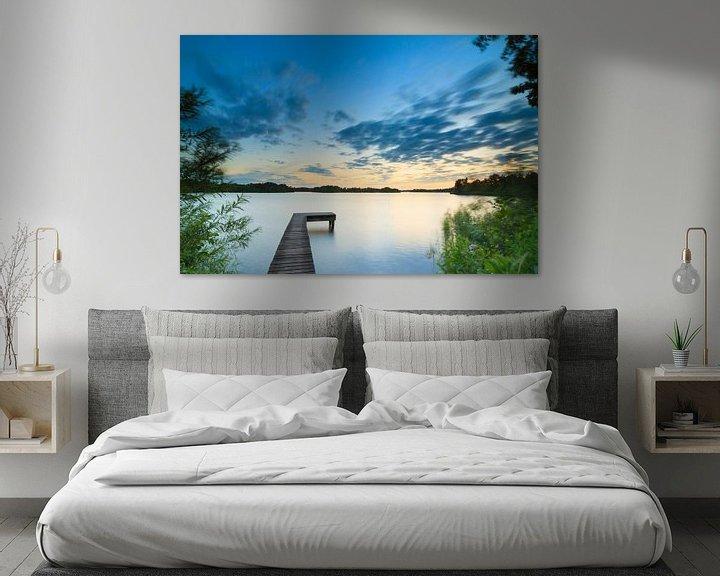 Sfeerimpressie: Midzomernacht bij het meer van Ron Buist