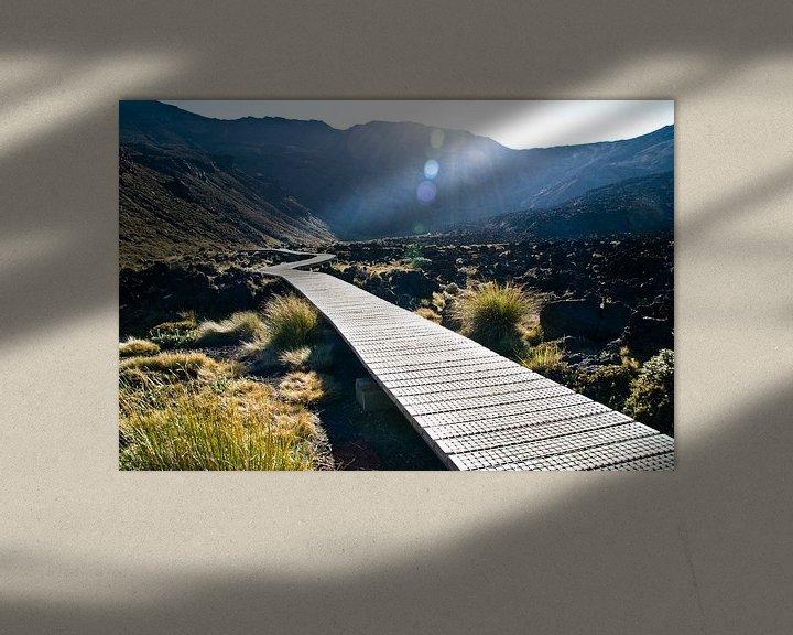 Sfeerimpressie: Tongariro Crossing van Lieke Doorenbosch