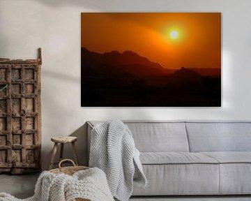 Zonsondergang van Lieke Doorenbosch
