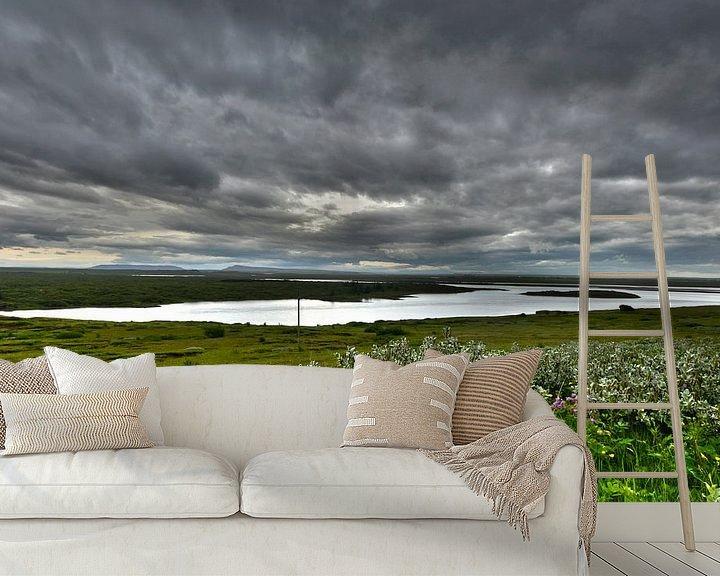 Impression: Clouds in Iceland sur Jasper Hovenga