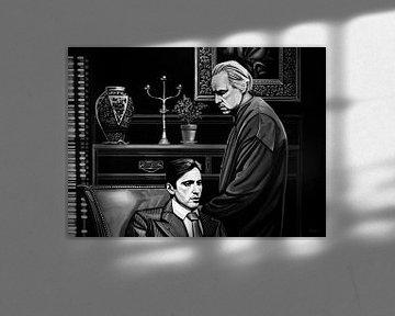 The Godfather schilderij van Paul Meijering