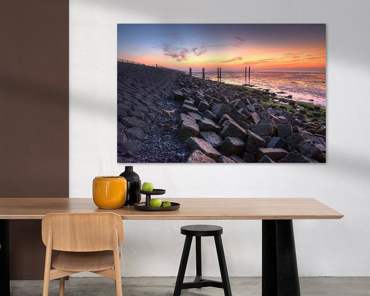 Impression: Waddendyke on the island of Terschelling in the Netherlands sur Tonko Oosterink