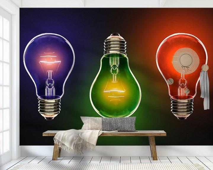 Beispiel fototapete: Inspiration in Farbe. von Steve Van Hoyweghen