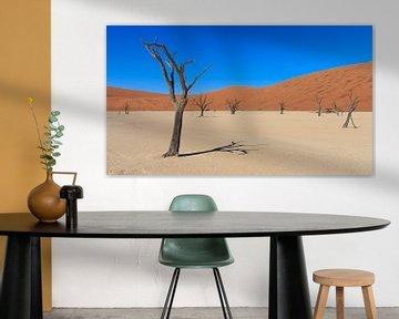 Dead Vlei Namibië van Annemiek van Eeden