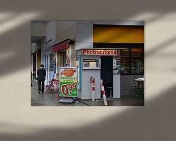 Oude fotocabine in Berlijn (fotocabine) cultuurobjecten van RaSch-BS_Design