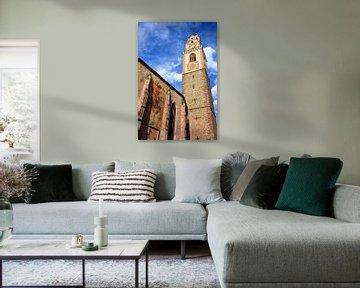 Parish Church St. Nikolaus in Merano van Gisela Scheffbuch
