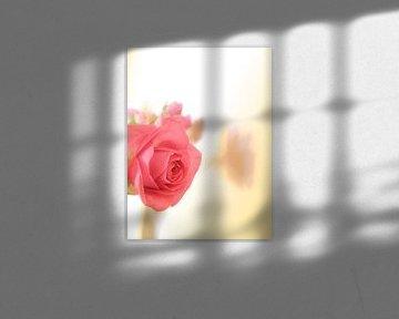 Roos in een boeket van Elisabeth De Potter