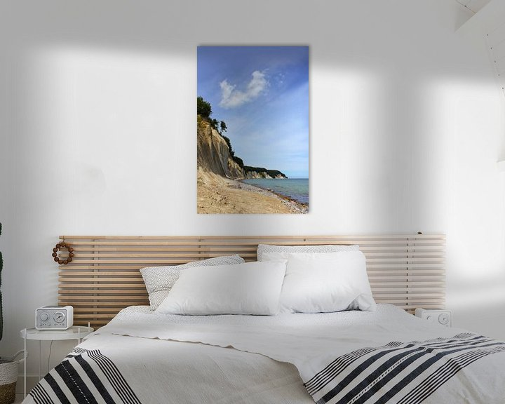Beispiel: Schöne Kreideküste von Ostsee Bilder