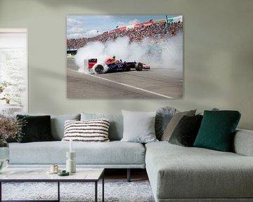 Formule 1 burnout!