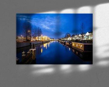 Merwedekanaal en de Jaarbeurs in Utrecht van Niels Eric Fotografie