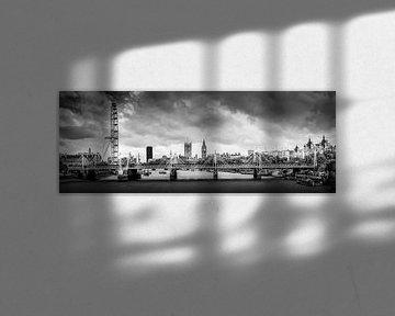 Panorama van Londen (Verenigd Koninkrijk) van M@rk - Artistiek Fotograaf