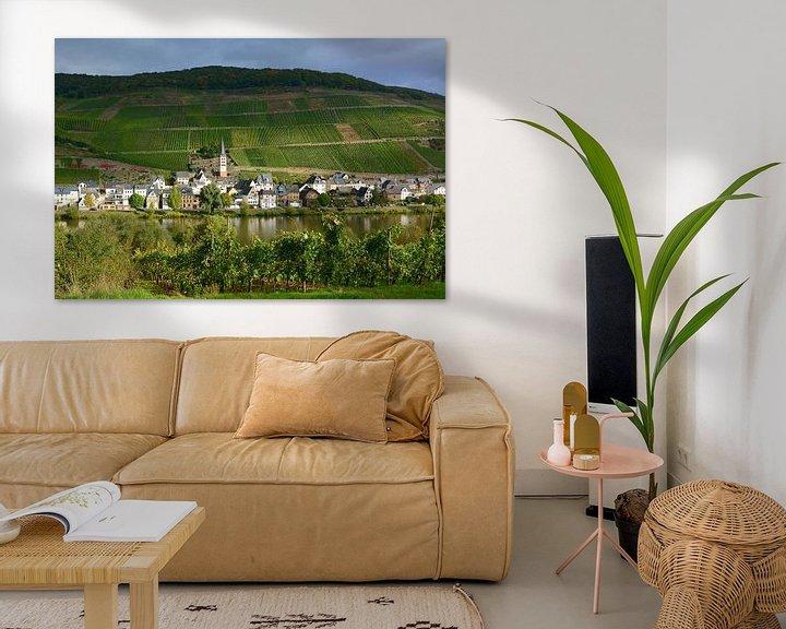 Sfeerimpressie: Zell-Merl on Moselle van Gisela Scheffbuch