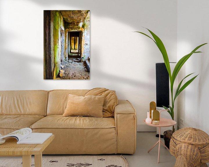 Beispiel: Ein hinterlassenes Wohgebäude von Ton de Koning
