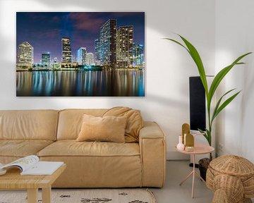 Brickell Skyline, Miami van Mark den Hartog
