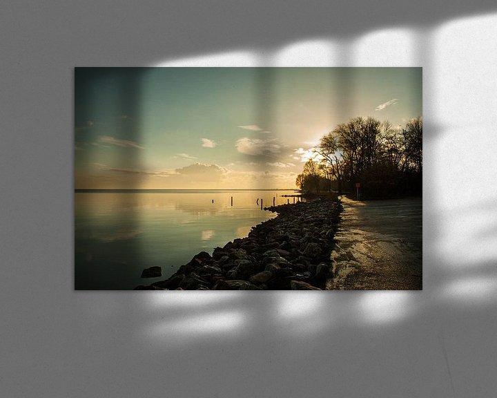 Impression: IJsselmeer  sur Chris Tijsmans